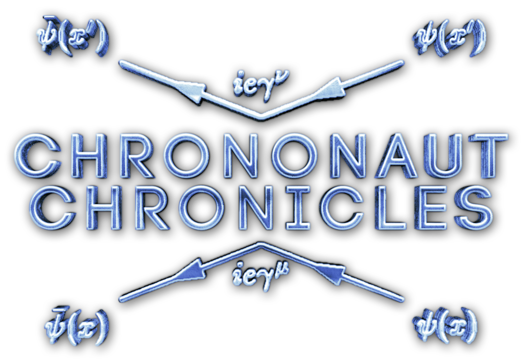 Chrononaut Chronicles logo